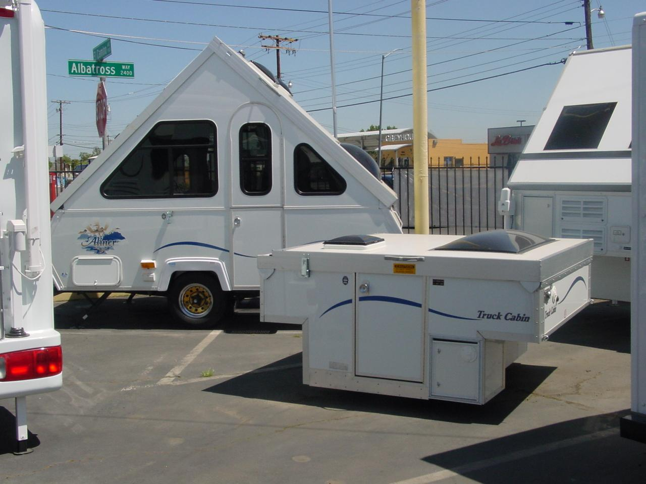 Aliner truck cabin for sale autos post for Cabin a camper for sale