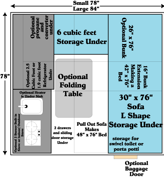 aliner floor plans submited images